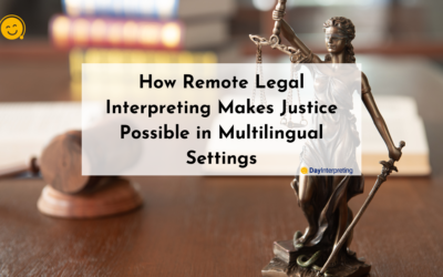 How Remote Legal Interpreting Makes Justice Possible in Multilingual Settings