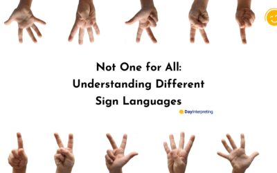 Not One for All: Understanding Different Sign Languages