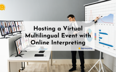 Hosting a Virtual Multilingual Event with Online Interpreting