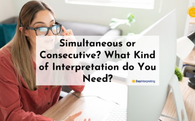 Simultaneous or Consecutive? What Kind of Interpretation do You Need?