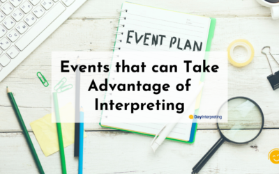 Events that can Take Advantage of Interpreting