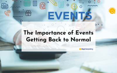 The Importance of Events Getting Back to Normal