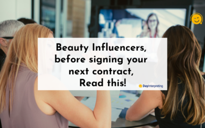 Beauty Influencers, before signing your next contract, read this!